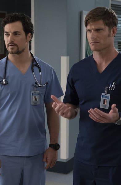 Link DeLuca - Grey's Anatomy