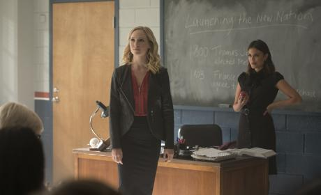 Career Day - The Vampire Diaries Season 8 Episode 8