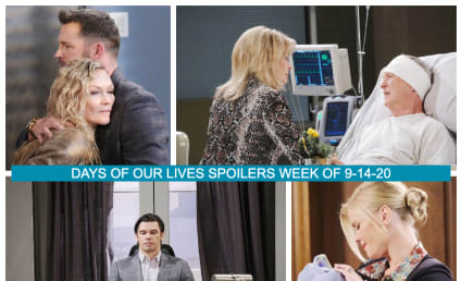 Days of Our Lives Spoilers Week of 9-14-20: Short But Not At All Sweet