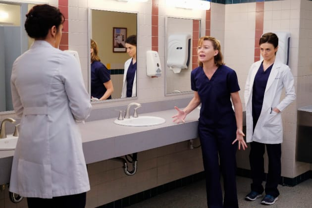 Meredith is Freaking Out - Grey's Anatomy Season 12 Episode 6
