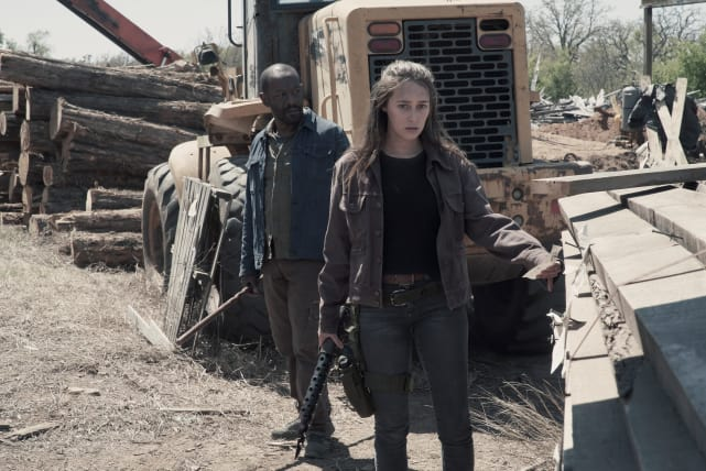 Be Alert - Fear the Walking Dead Season 4 Episode 9
