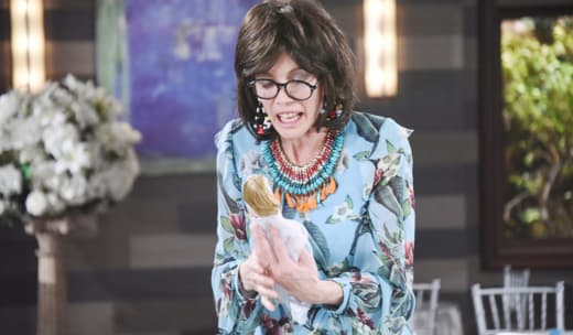 Susan and Her Doll - Days of Our Lives