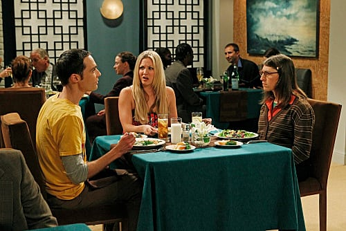 Sheldon and Amy's First Date