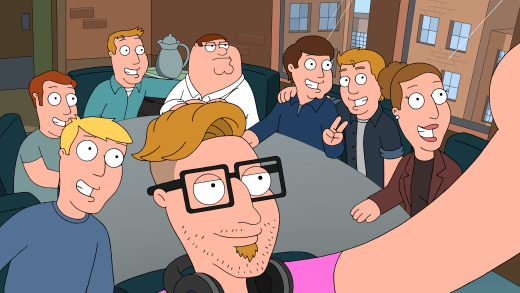 Selfies with Hammer - Family Guy Season 16 Episode 18
