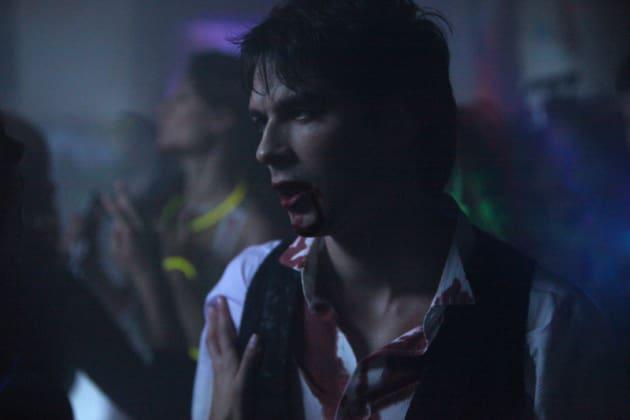 Damon Partying