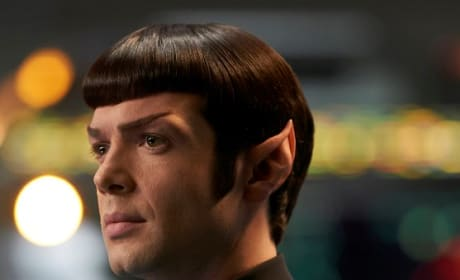Spock Close-Up - Star Trek: Discovery Season 2 Episode 14