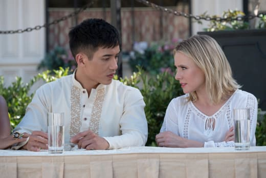 Jason and Eleanor - The Good Place Season 2 Episode 9