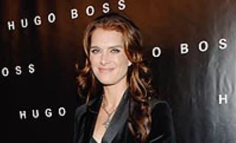 Brooke Shields at Huge Boss Opening