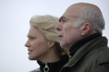 Tricia Helfer and Michael Hogan
