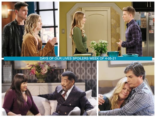 Spoilers for the Week of 4-05-21 - Days of Our Lives