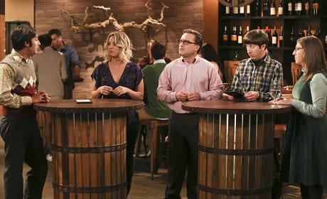 The Wine Tasting - The Big Bang Theory