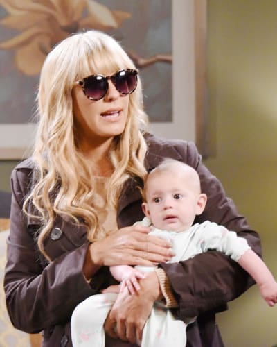 Nicole Abducts Holly - Days of Our Lives