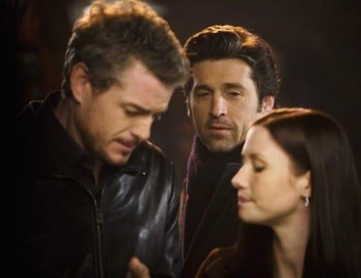 Derek Observes Mark and Lexie