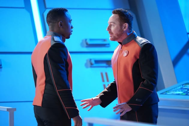 Getting Game - The Orville Season 2 Episode 1