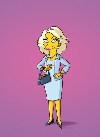 Joan Rivers on The Simpsons