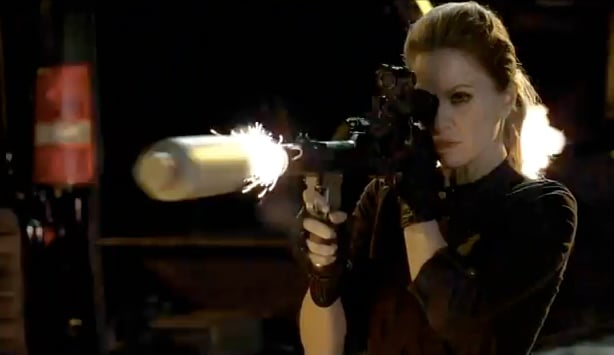 Pam with a Gun