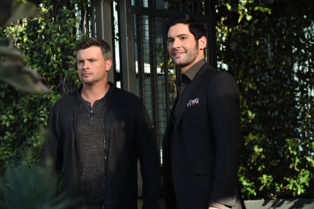 Partners in Crime - Lucifer Season 3 Episode 16