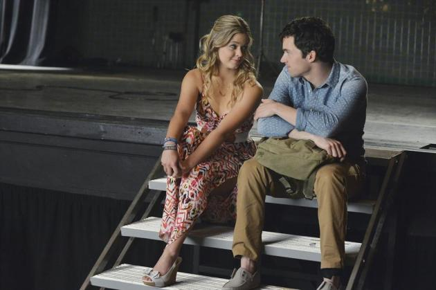 Ali and Ezra Look Chummy