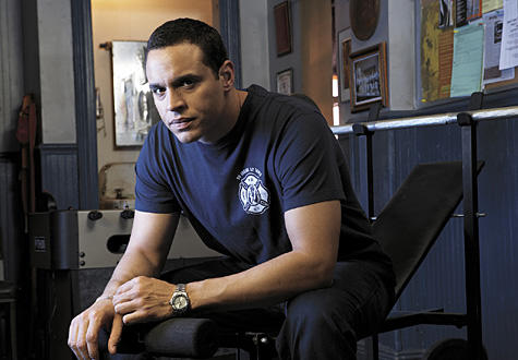 Daniel Sunjata on Rescue Me