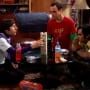 Sheldon, Raj and Wolowitz Play Jenga