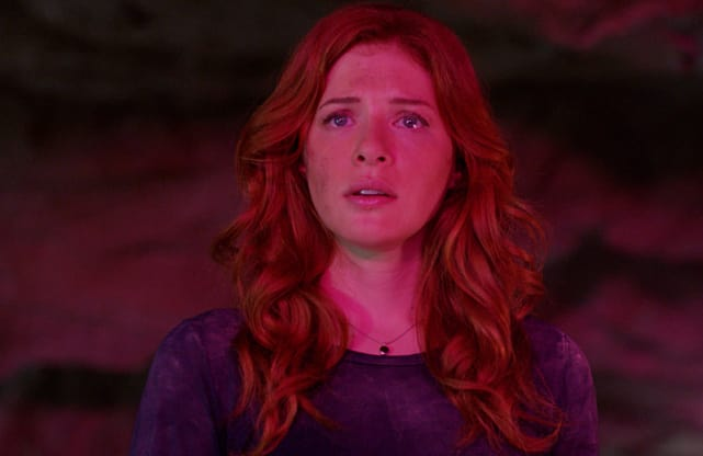 Julia's Concerned in the Tunnel - Under the Dome Season 2 Episode 7