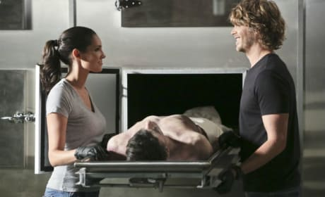 Kensi and Deeks Have A Moment - NCIS: Los Angeles