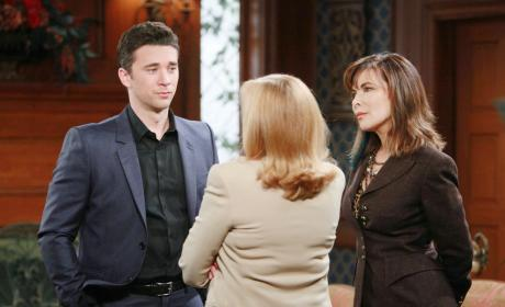 Laura Rips Into Chad - Days of Our Lives