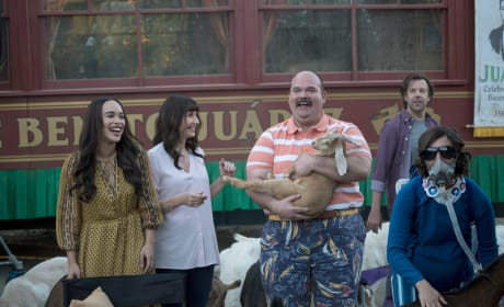 the goats and the gang - The Last Man on Earth Season 4 Episode 18