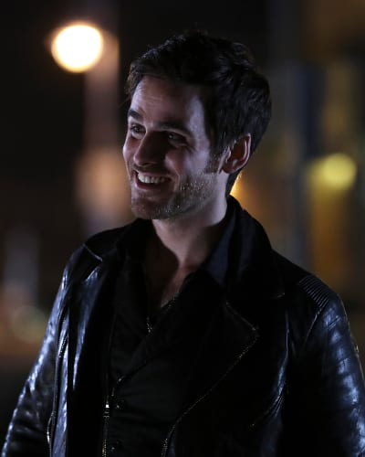 Killian's happy - Once Upon a Time Season 6 Episode 12