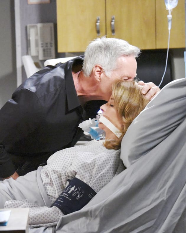 John Fights for Marlena - Days of Our Lives