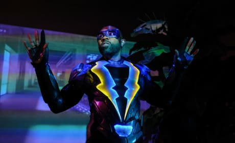 Black Lightning Photos: The Return of a Superhero?