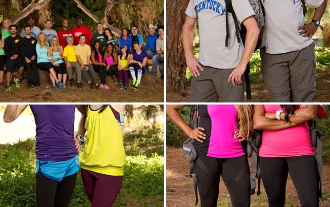 The amazing race all stars cast