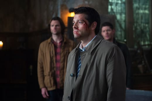 A bloody Castiel - Supernatural Season 12 Episode 10