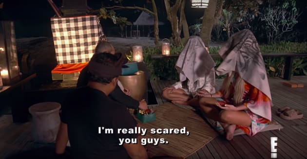 Kim and Khloe Get Burped on - Keeping Up with the Kardashians
