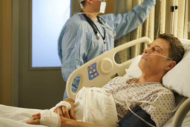 Henrys in the hospital madam secretary