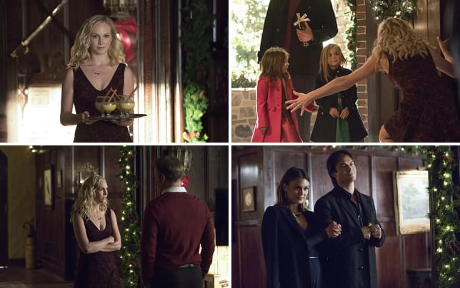 Hostess caroline the vampire diaries season 8 episode 7