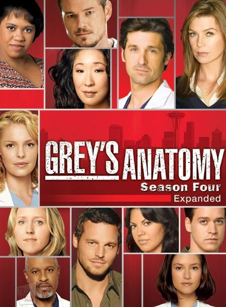 Grey's Anatomy Season 4 DVD