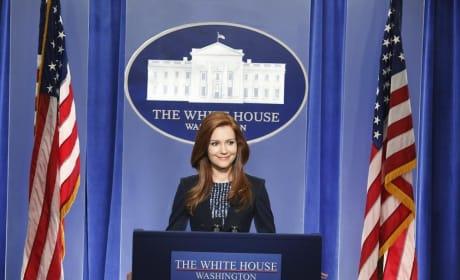 Abby Addresses The Press - Scandal Season 4 Episode 11
