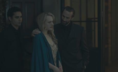 Awkward Situation - The Handmaid's Tale Season 1 Episode 8