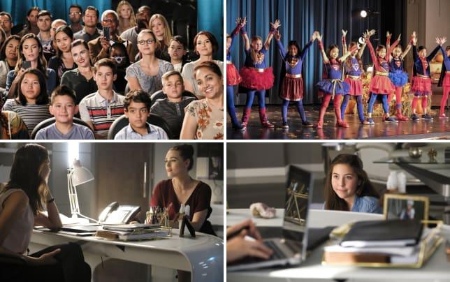 School play supergirl season 3 episode 4