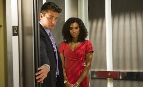 Jackson Hurst and Annie Ilonzeh