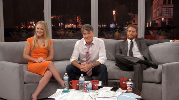 Avery on his Morning Show - Murphy Brown Season 11 Episode 6