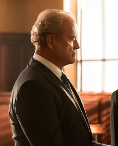 Kelsey Grammer as Gore Bellows - Proven Innocent Season 1 Episode 1