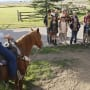 Family at a Dude Ranch