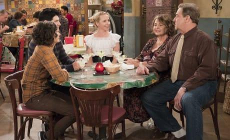 Family Dinner - Roseanne Season 10 Episode 8