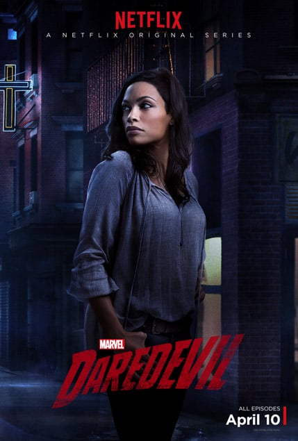 Rosario Dawson as Claire Temple