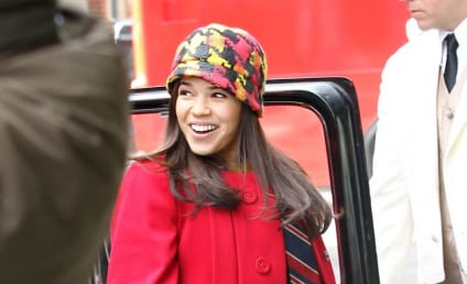 Ugly Betty Set Shots Reveal Braceless Betty