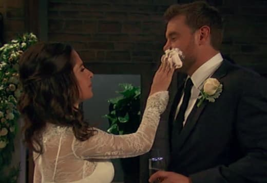 Drew and Sam Wedding Cake - General Hospital
