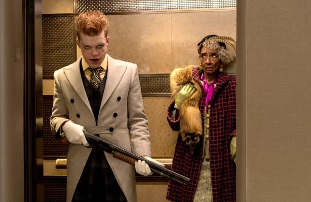 Jerome Makes a Visit - Gotham Season 4 Episode 17