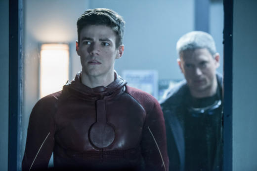 What does Barry see? - The Flash Season 3 Episode 16